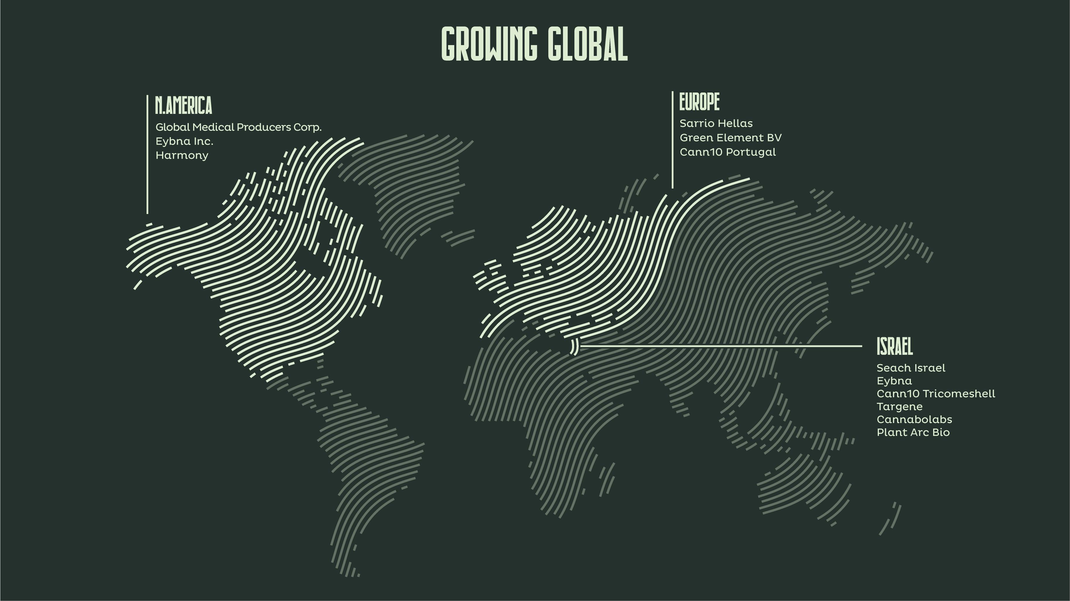 Seach Medical Global Map